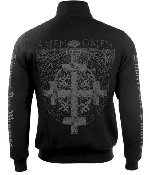 bluza AMENOMEN - FOUR CROSS rozpinana, stójka (OMEN064CS)
