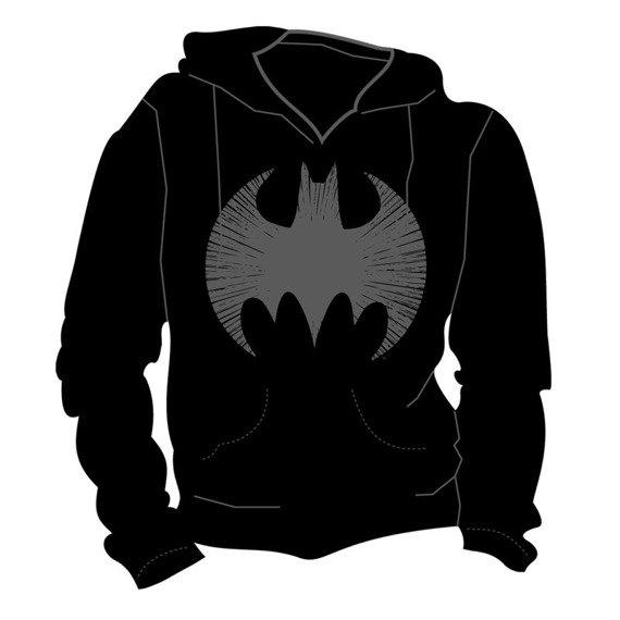 bluza BATMAN - CRACKED EMBLEM