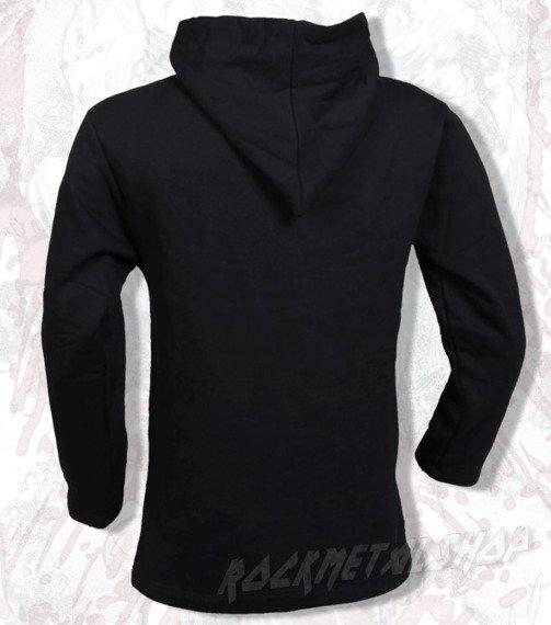 bluza BLACK ICON - FACE czarna z kapturem (BICON019)