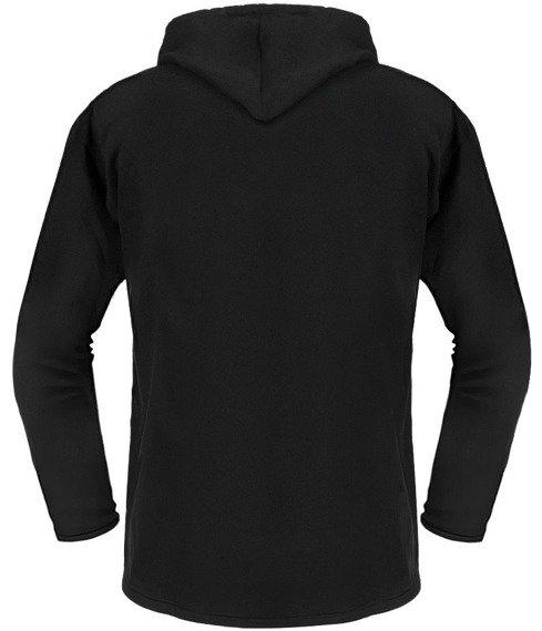 bluza BLACK ICON - HADES czarna z kapturem