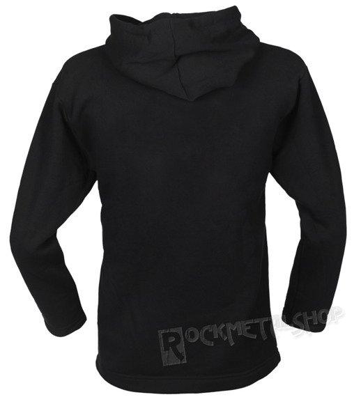 bluza BLACK ICON - PINOCHIO BLACK czarna z kapturem (BICON114BLK)
