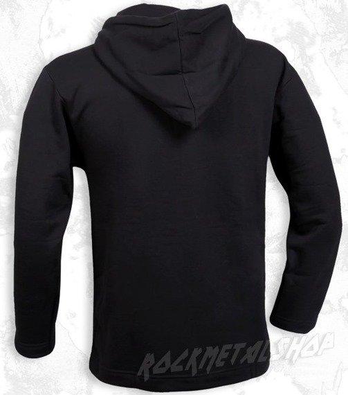 bluza BLACK ICON - SKULL czarna z kapturem (BICON034)