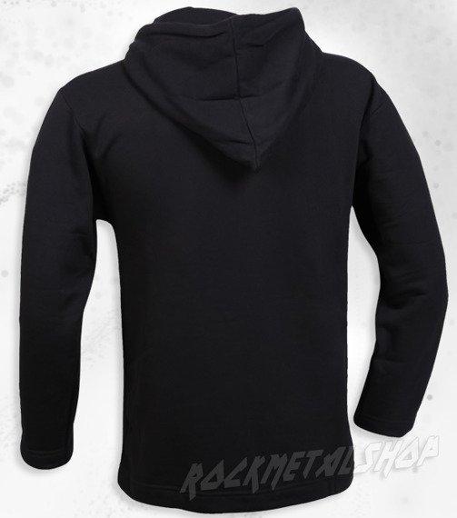 bluza BLACK ICON - SMURFS czarna z kapturem (BICON090)
