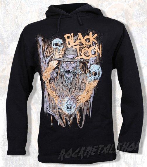 bluza BLACK ICON - THE EYE OF DEATH czarna z kapturem (BICON028)