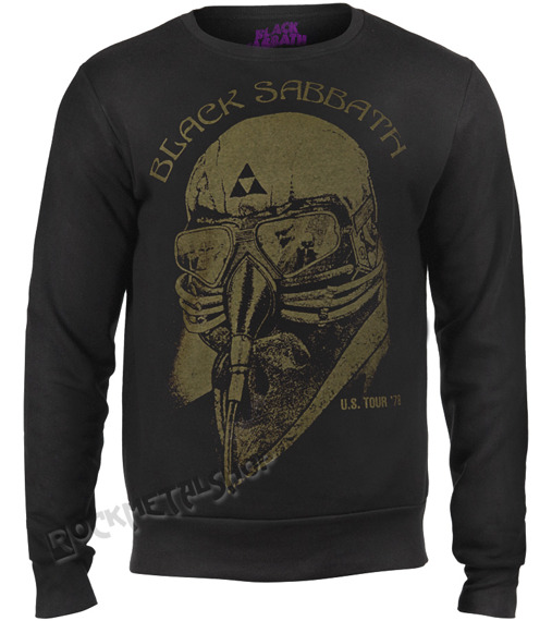 bluza BLACK SABBATH - US TOUR 78, bez kaptura