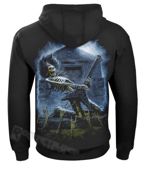 bluza DEATH METAL czarna, z kapturem