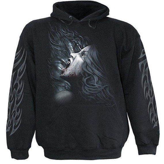 bluza FATAL BEAUTY czarna, z kapturem