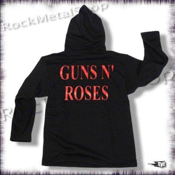 bluza GUNS N ROSES - APPETITE FOR DESTRUCTION, czarna z kapturem