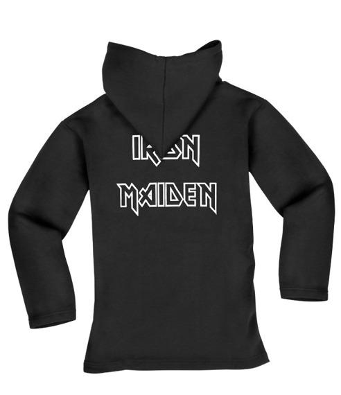 bluza IRON MAIDEN - KILLERS czarna, z kapturem