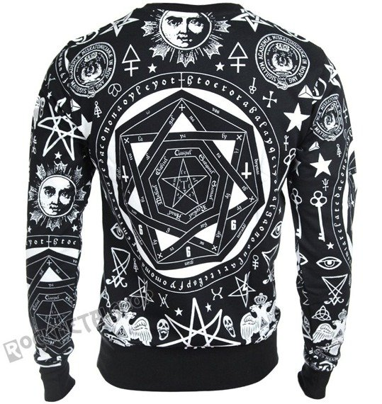 bluza KILL STAR - OCCULT, bez kaptura