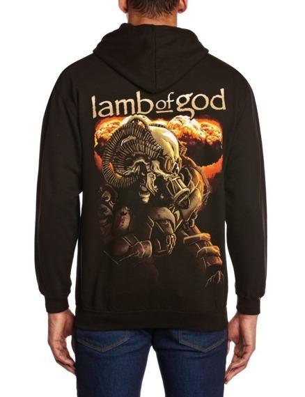bluza LAMB OF GOD - ANIME, rozpinana z kapturem