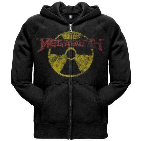 bluza MEGADETH - MEGADETH, rozpinana z kapturem