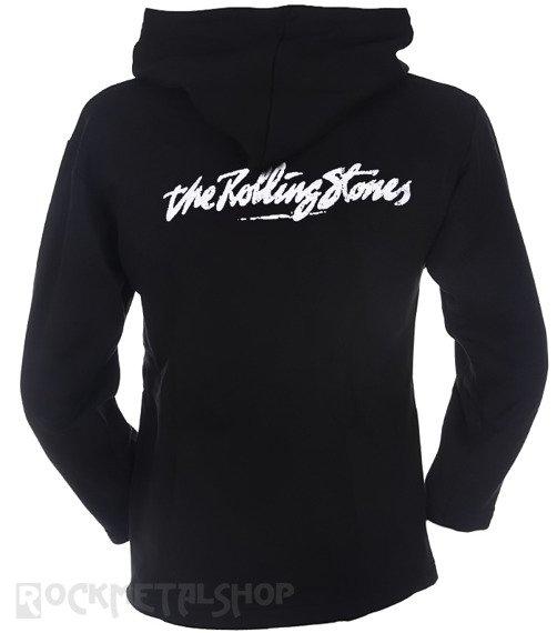 bluza ROLLING STONES czarna, z kapturem
