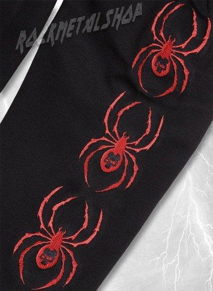 bluza SKULL SPIDER bez kaptura