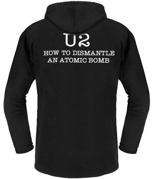 bluza U2 - HOW TO DISMANTLE AN ATOMIC BOMB czarna z kapturem