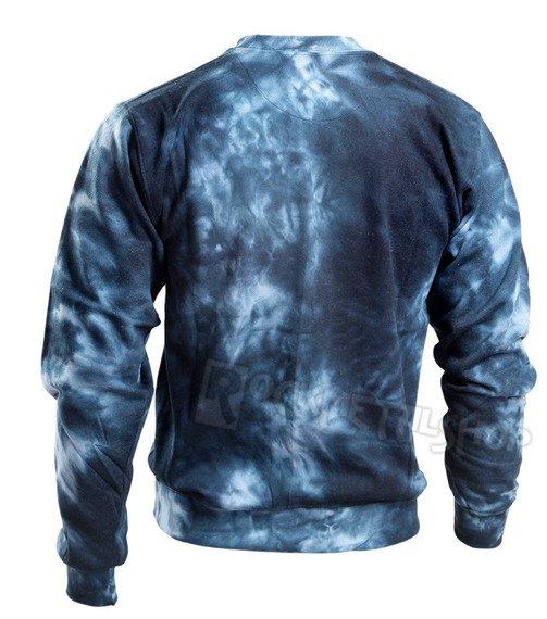 bluza barwiona RUNNING BEAR / BLUE
