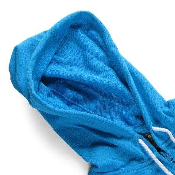 bluza damska na suwak ETNIES - UNWRITTEN (FULL ZIP) (TURQUOISE)