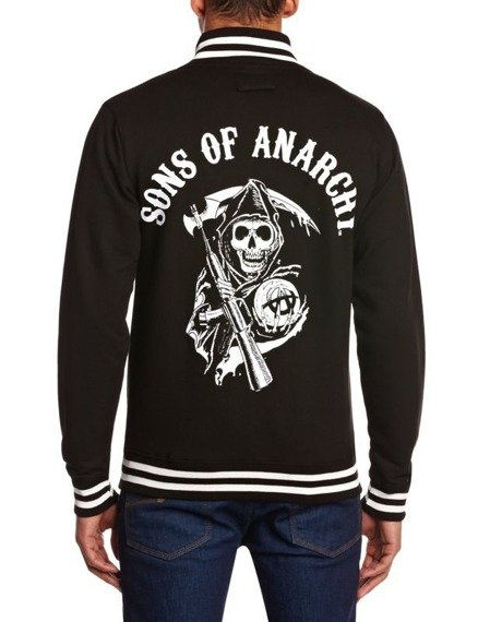 bluza/kurtka SONS OF ANARCHY  - CLASSIC , rozpinana