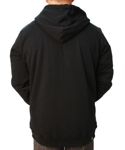 bluza ocieplana z kapturem METAL MULISHA - RESTORED czarna