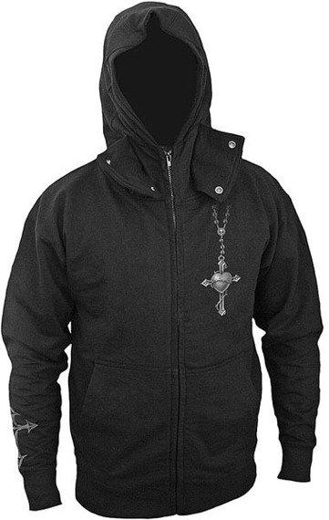 bluza rozpinana z kapturem GOTH PRAYER