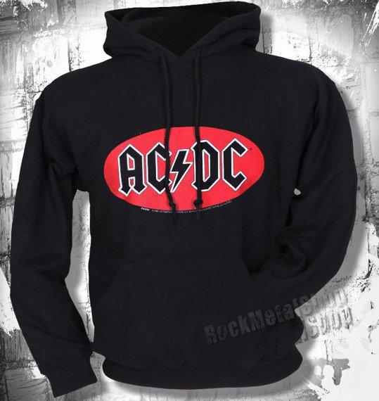 bluza z kapturem AC/DC - OVAL LOGO