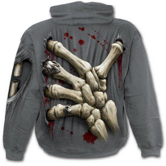 bluza z kapturem DEATH GRIP