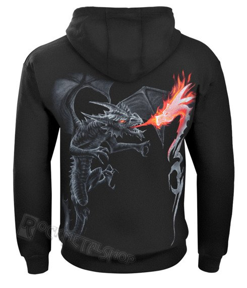 bluza z kapturem DRAGON BLAZE