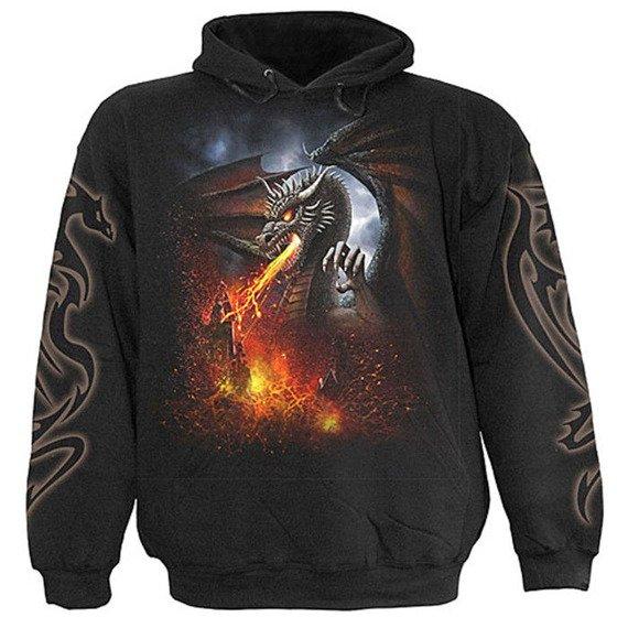bluza z kapturem DRAGON LAVA