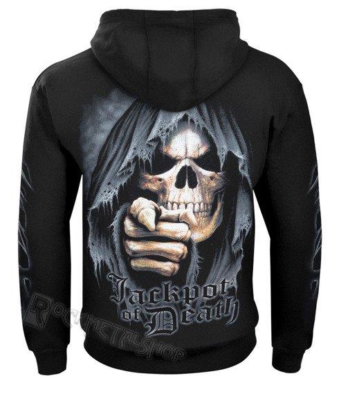 bluza z kapturem JACKPOT DEATH