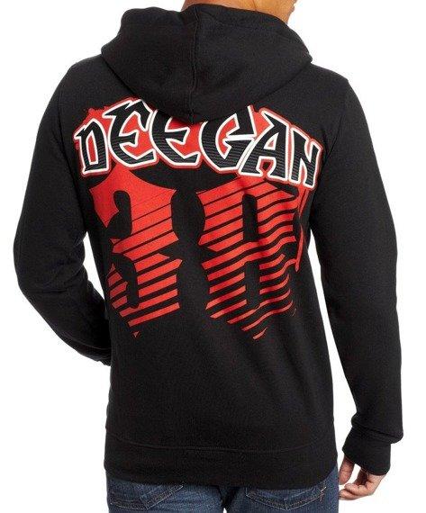 bluza z kapturem METAL MULISHA - DEEGAN GEAR czarna