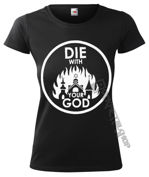 bluzka damska AMENOMEN - DIE WITH YOUR GOD (OMEN071DA)