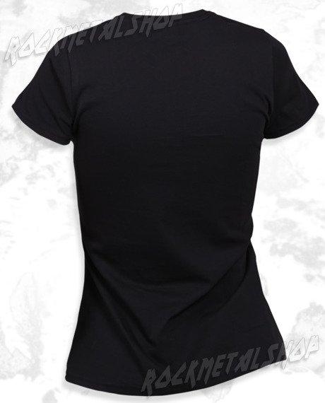 bluzka damska BLACK ICON - SMURFS (DICON090 BLACK)