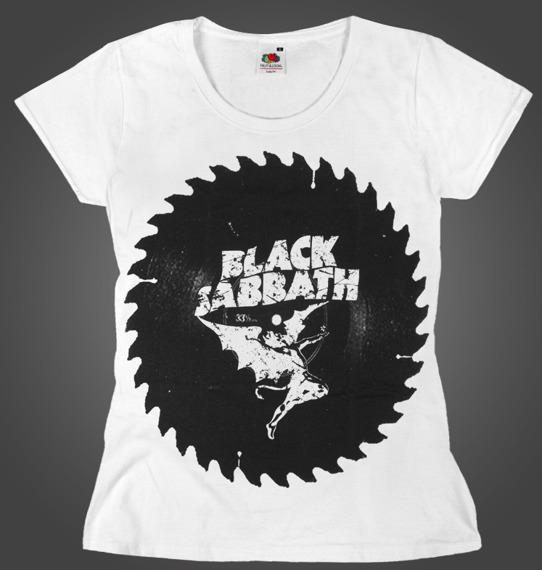 bluzka damska BLACK SABBATH - SAW white