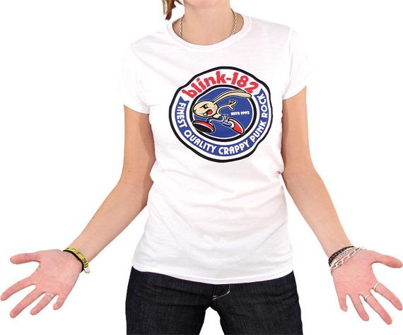 bluzka damska BLINK 182 - BUNNY SEAL