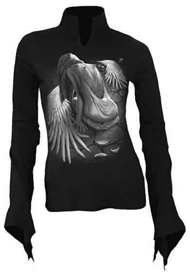 bluzka damska BROKEN ANGEL długi rękaw