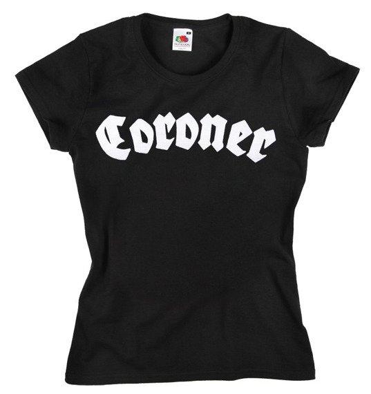bluzka damska CORONER - LOGO