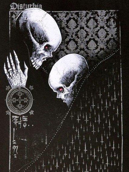 bluzka damska DISTURBIA - LOVE IS DEATH