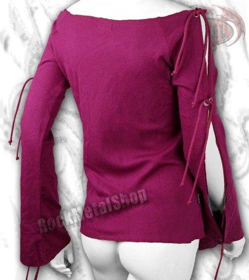 bluzka damska DRAGON OF THE ROSES długi rękaw
