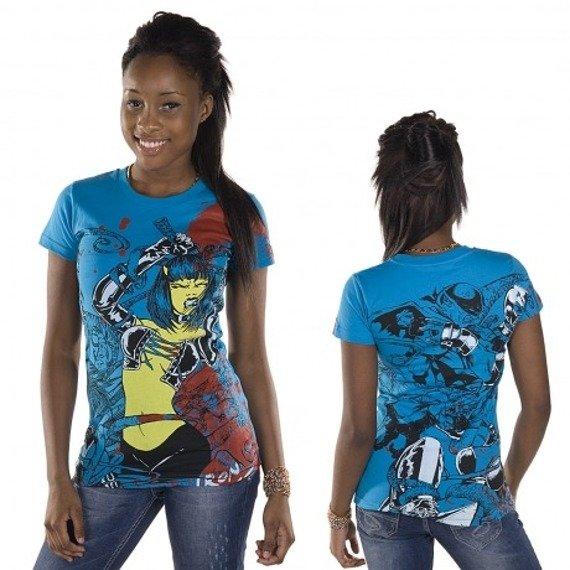 bluzka damska  IRON FIST - BABYLON  (ELECTRIC BLUE)