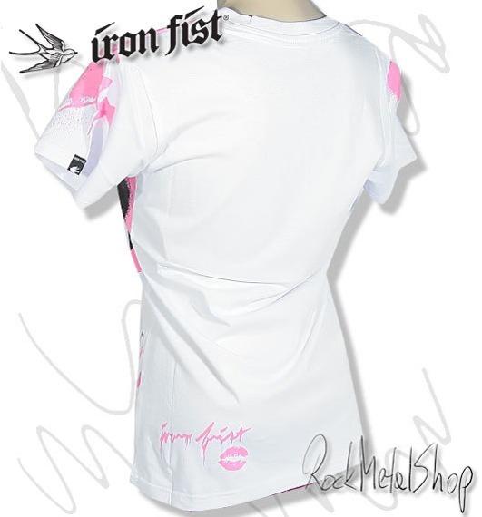 bluzka damska IRON FIST (DIRTY HARRY-WHITE)