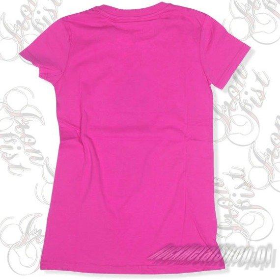 bluzka damska  IRON FIST - NEED A HUG  (FUSCHIA PINK)