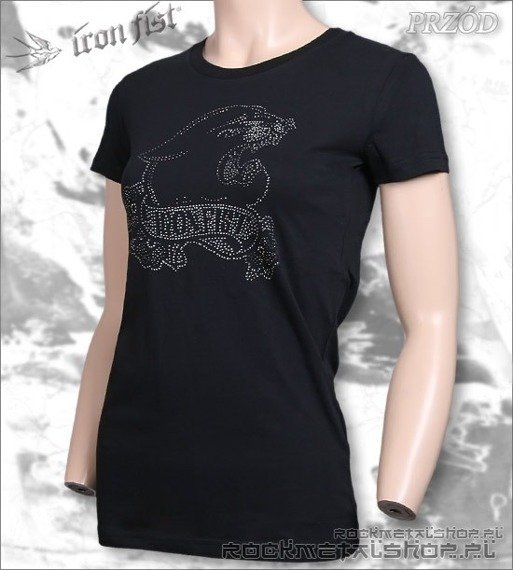 bluzka damska  IRON FIST - YOSEMLTE HOT FIX (BLACK)