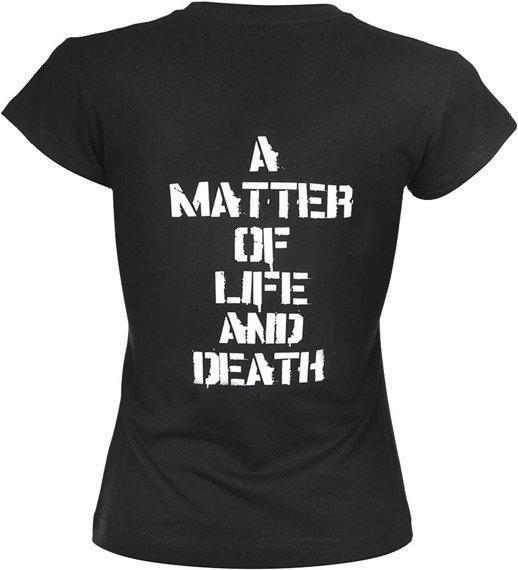 bluzka damska IRON MAIDEN - A MATTER OF LIFE AND DEATH