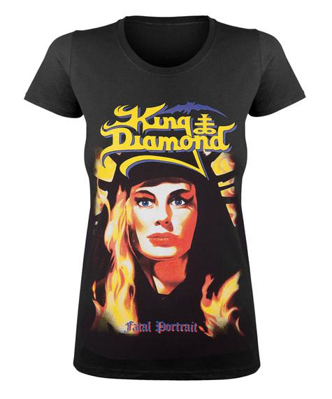 bluzka damska KING DIAMOND - FATAL PORTRAIT