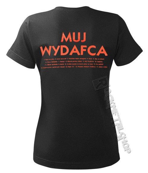 bluzka damska KULT - MUJ WYDAFCA czarna