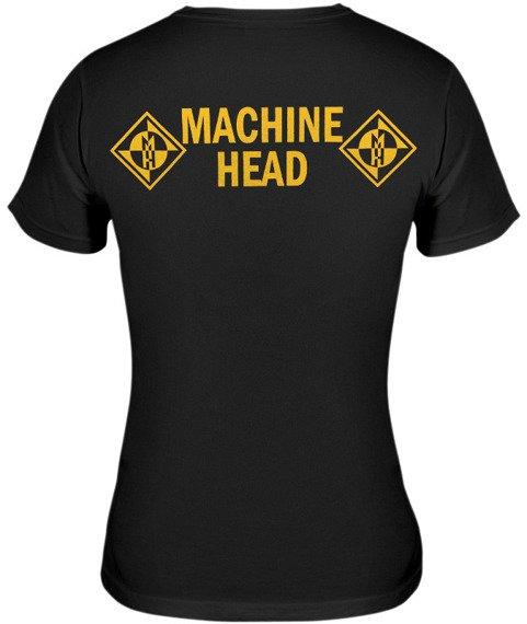 bluzka damska MACHINE HEAD - YELLOW SIGN