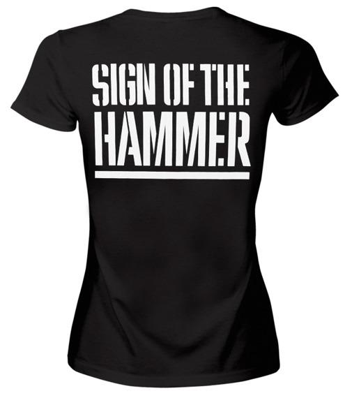 bluzka damska MANOWAR - SIGN OF THE HAMMER