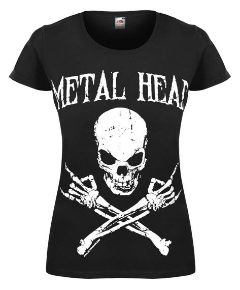 bluzka damska METAL HEAD