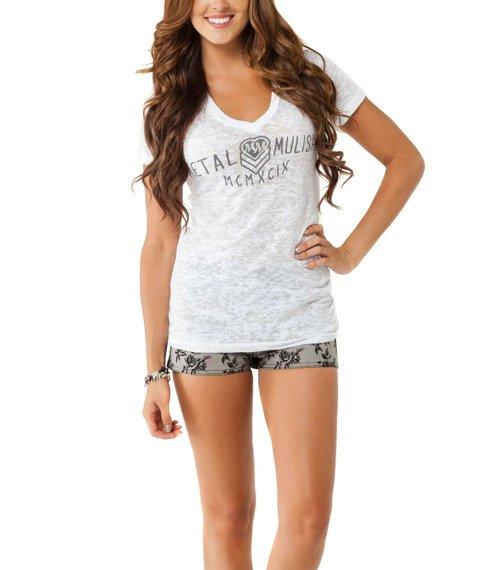 bluzka damska METAL MULISHA - CRUISER biała