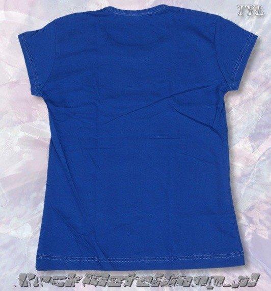 bluzka damska METALLICA niebieska